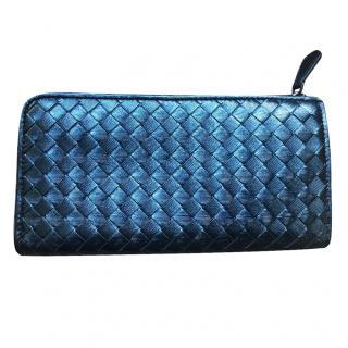 Bottega Veneta Limited edition Iridescent Intrecciato Zippy Wallet