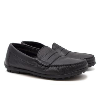 Papouelli Boy's Barnie Leather Loafer