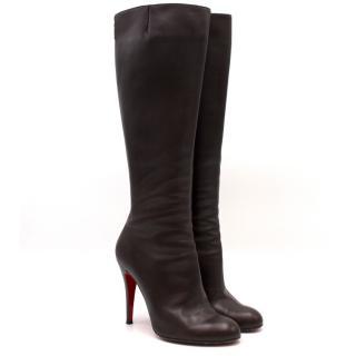 Christian Louboutin Knee-High Heeled Boots