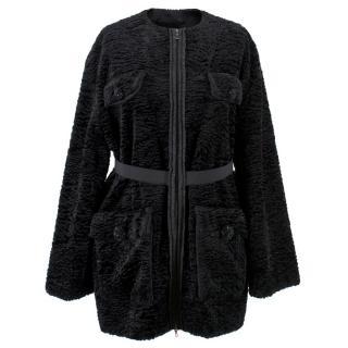 Lanvin Textured Embellished Coat