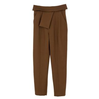 Balenciaga Wool Tailored Trousers