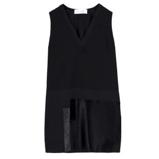 Victoria Victoria Beckham Wool & Calf Hair Dress