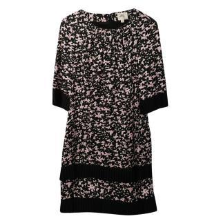 Milly Silk Printed Summer Dress