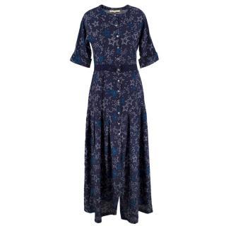 Paloma Blue Silk Luna Dress