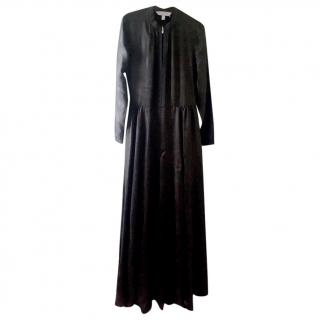 Mulberry Black Long Sleeved Maxi Dress