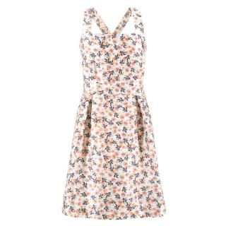 Mother of Pearl Floral Cross Back Dress
