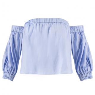 Milly Cropped Bardot Top