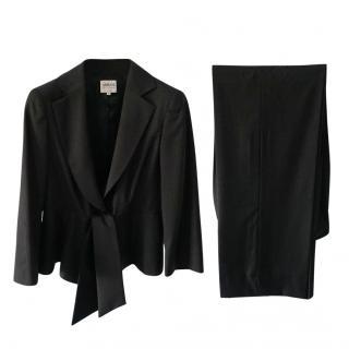 Armani Collezioni Grey  Trouser Suit