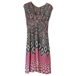 Temperley Pink patterned Dress