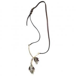 Marni rhinestone necklace