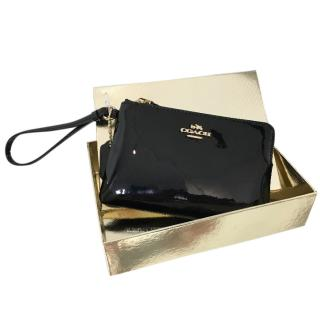 Coach Patent Leather Pouch