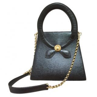 Chloe Epi brown leather shoulder bag
