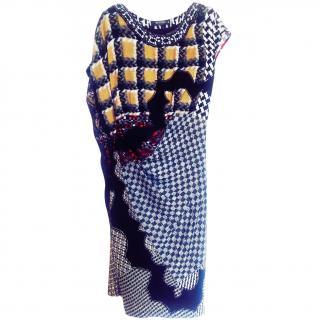ETRO Embellished Silk Dress