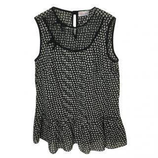 Red Valentino Sleeveless Top