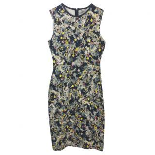 Erdem Sleeveless Floral Dress