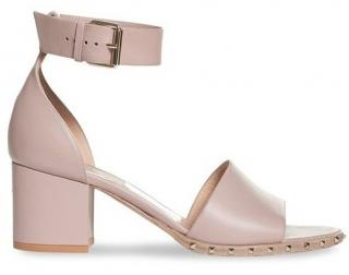 Valentino 'soul stud' block heeled sandals