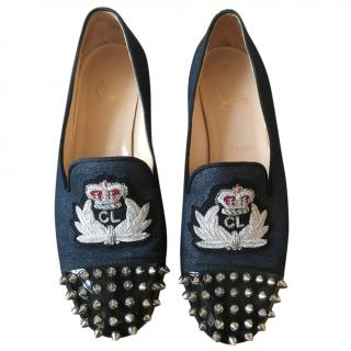 Christian Louboutin Spiked Toe Pumps