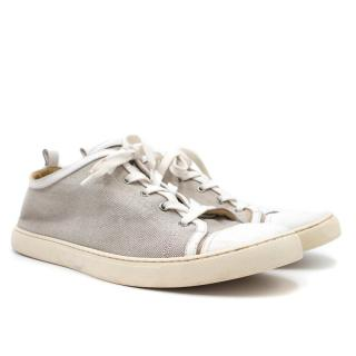 Hermes Giocco Canvas Sneakers