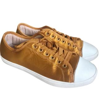 Uterue Satin Low Top Trainers