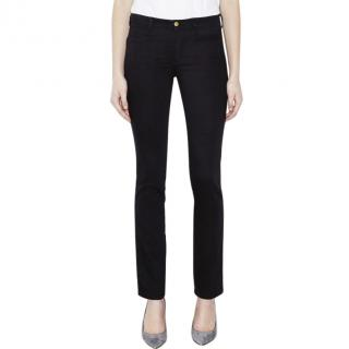 M.I.H. Black Oslo Mid Rise Slim Jeans