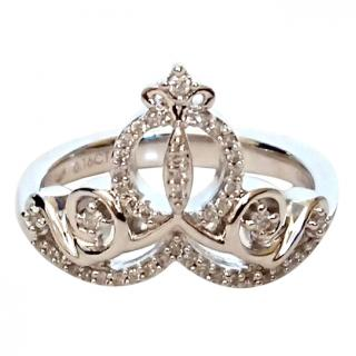 Zales Enchanted Diamond Carriage Ring