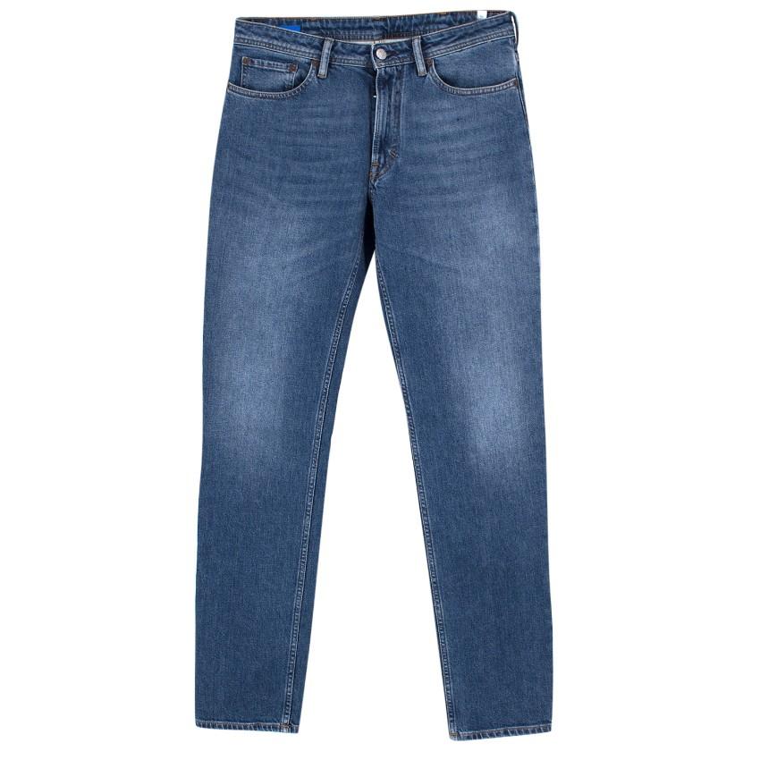 Acne Jeans South Mid Blue Jeans