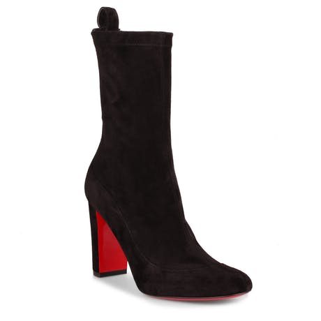 5dffb7d7d97 Christian Louboutin Gena 85 Stretch Booties