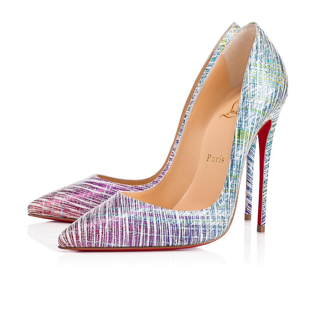 Christian Louboutin So kate 120 suede Unicorn Pumps