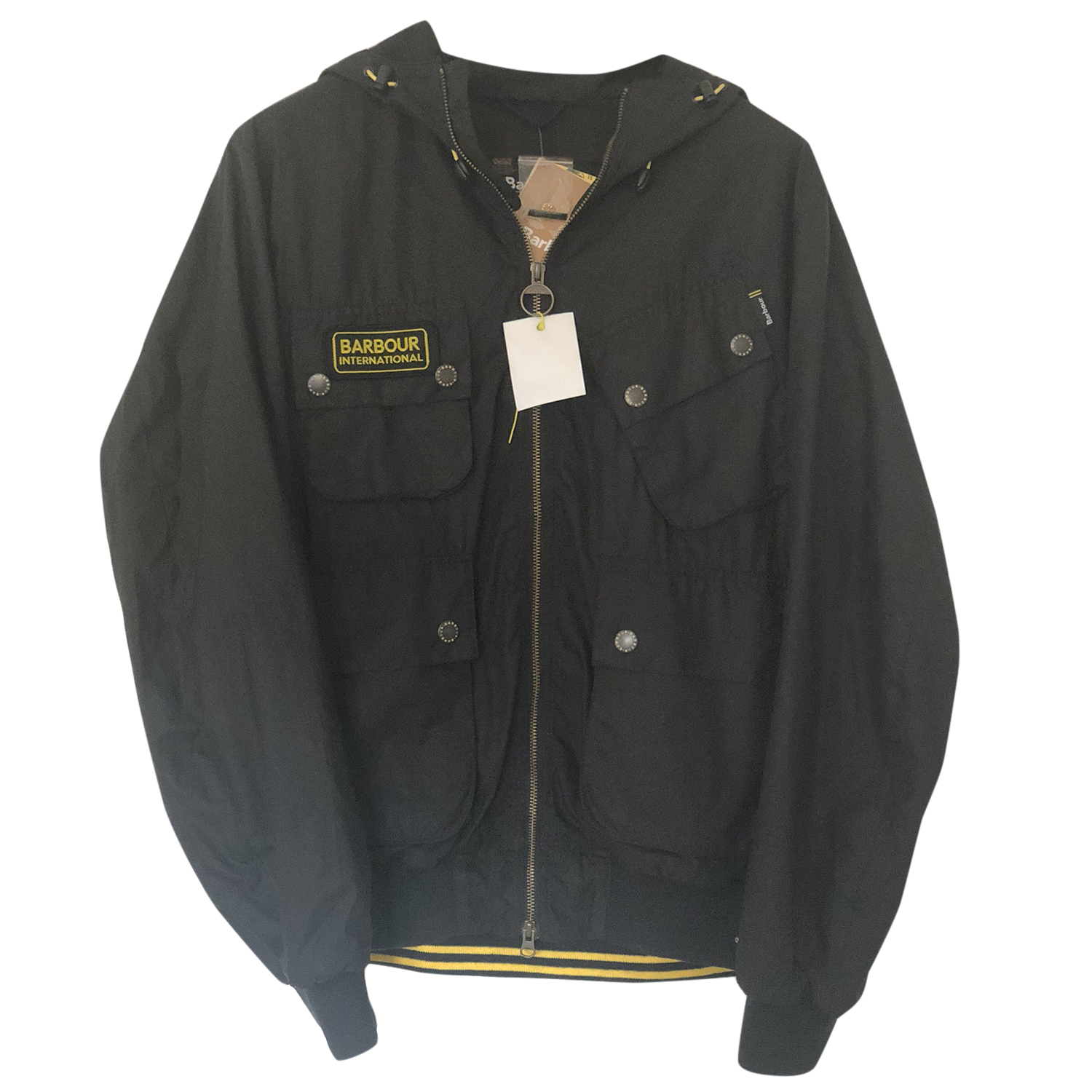 Barbour International Glananton Waxed Jacket