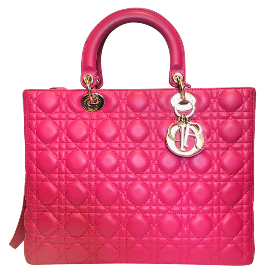 Dior Large Pink Lady Dior Bag