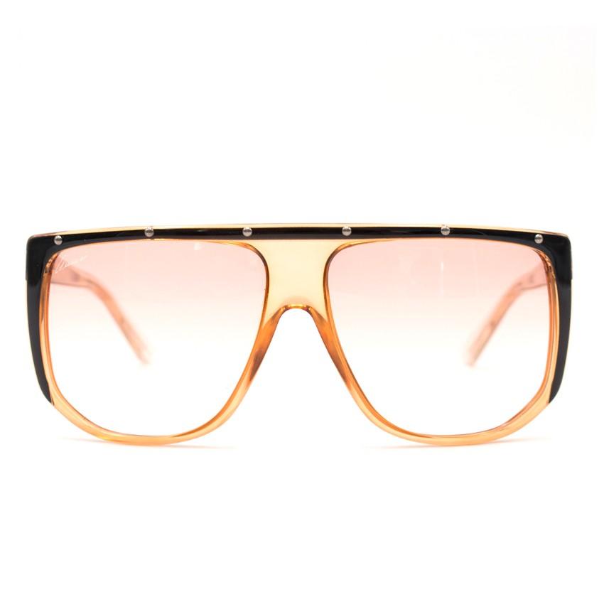 ce83794fc176f Gucci Large Shaded Mask Sunglasses