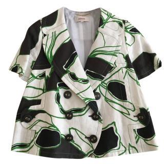 Kenzo A-line floral print jacket