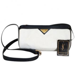 YSL Vintage Bowler shoulder bag