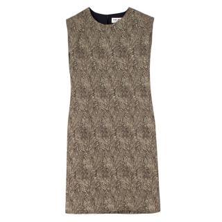 Saint Laurent Gold Shift Dress