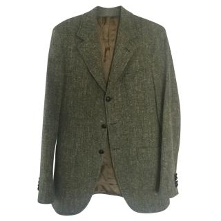 Dolce And Gabbana Men's Tweed Blazer