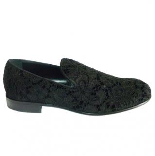 Dolce & Gabbana Lace Loafers