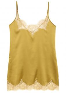 Vannina Vesperina Gold Silk Chemise