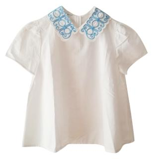 Vivetta embroidered collar blouse