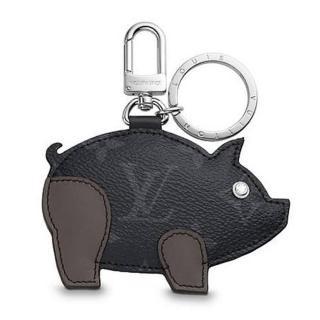 Louis Vuitton  Limited Edition Pig Zodiac Bag Charm and Key Chain