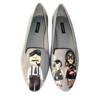 Dolce & Gabbana 'La Famiglia' Patent Loafers