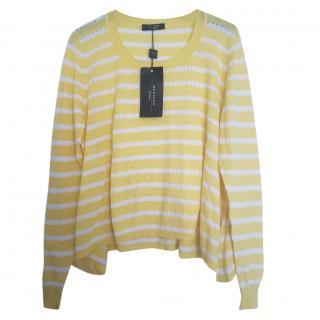 Max Mara striped knit jumper