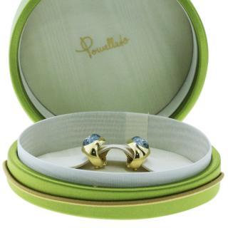 POMELLATO Blue/Diamond Earrings