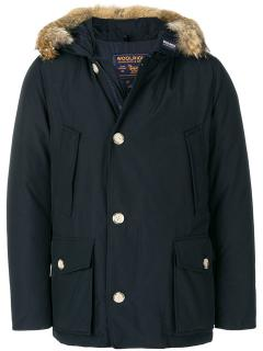 Woolrich Black Arctic Anorak