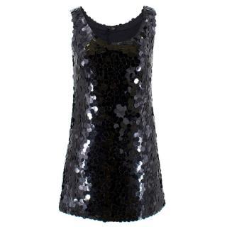 Miu Miu Sequin Shift Dress