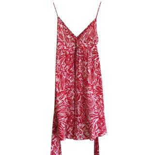 Armani Printed Floral dress