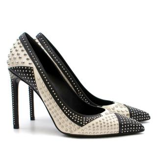 Saint Laurent Studded Pumps