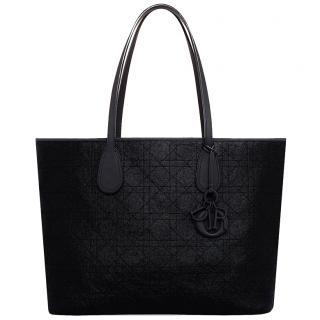 Dior Black Panarea Canvas Tote Bag