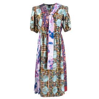 Marc Jacobs Patchwork Silk Dress