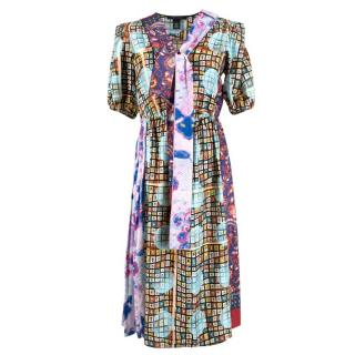 Marc Jacobs Patchwork Silk Dress