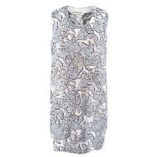 Balenciaga Floral Shift Dress